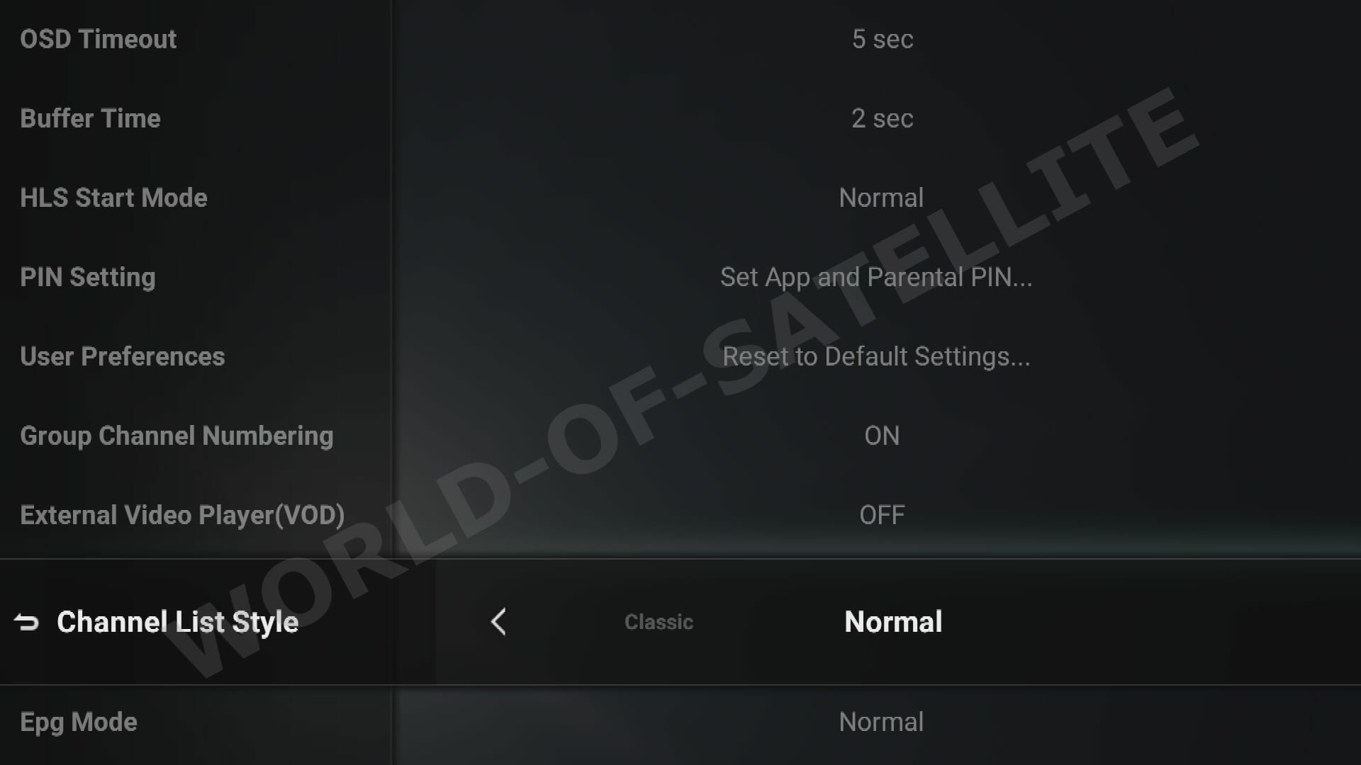 Formuler's Exclusive MYTVOnline IPTV app screenshots  Support for 5x