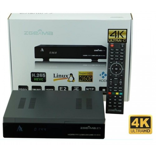 Zgemma 4K UHD Receivers in stock from only £64 95! 7 models